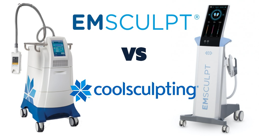 Dallas Emsculpt vs. Coolsculpting at Advanced Skin Fitness